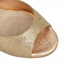 Tangolera Glitter Rame Laminato Rosa | TBA2gl-grsx7