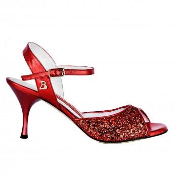 Tangolera Glitter Rosso / Laminato Rosso | TBA1G-prsx7