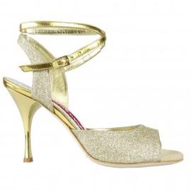 Tangolera A1CL Glitter Oro Galv T9