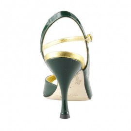 Tangolera Vernice Verde Gucci T8 | TBA9vgVr-grnx8