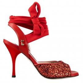 Tangolera A2G Glitter Rosso Fiocchi T9