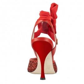 Tangolera A2G Glitter Rosso Fiocchi T9 - TBA2Gglt-rdbwsx9
