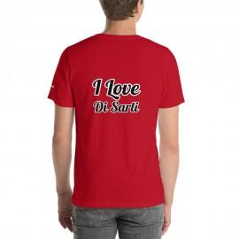 """Tangonaut XtroNerd """"I Love Di Sarli"""" Short-Sleeve Unisex B+C 3001 T-Shirt"""