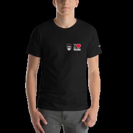 "Tangonaut XtroNerd ""I Love D'Arienzo"" Short-Sleeve Unisex B+C 3001 T-Shirt"