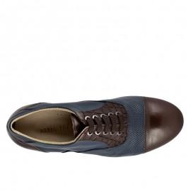 Tangolera Oxford Blu Brown 106 - TBO106bbx2p2