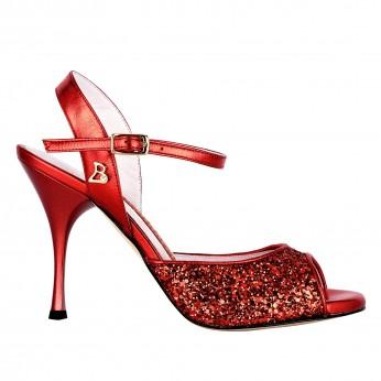 Tangolera Glitter Rosso / Laminato Rosso | TBA1G-prsx9