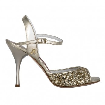 Tangolera Glitter Platinum   A1-pltx9