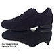 Schizzo Tacco Sneakers Camoscio Nero Italian Men's Shoes - Model SznkCbckx1p8 entirely made in black suede