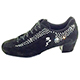 Schizzo Donna Camoscio / Swarovsky - Italian Women Dance Shoes/Sneakers model SzDna-Bswx4