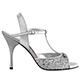 Tangolera Glitter Argento - Italian Women Shoes model TBA1T-agx9,  Silver Glitter,  Heel 9