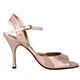 Tangolera Vernice Rosa - Italian Women Shoes model A2, laquered (patent leather) in pink,  Heel 7 (also available HEEL 9)
