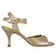 Tangolera Nappa Perla - Italian Women's Shoes Model TBA2BCLnp-prlbgx7, Nude Pearl Beige Nappa X-strap ankle-strap sandals, Heel 7 (also available HEEL 9)