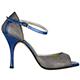 Tangolera Blu Cangiante - Italian Women Shoes model A8