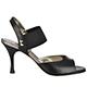 Tangolera Elastic Nappa Black - Italian Women Shoes model TBE01n-bkx7, Black Napa Leather, Heel 7