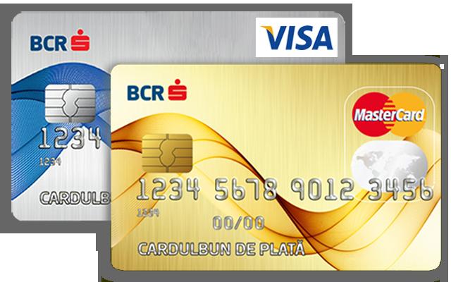 Carduri de credit BCR