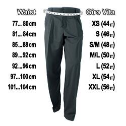 Guida Misure Man Trousers Gantle